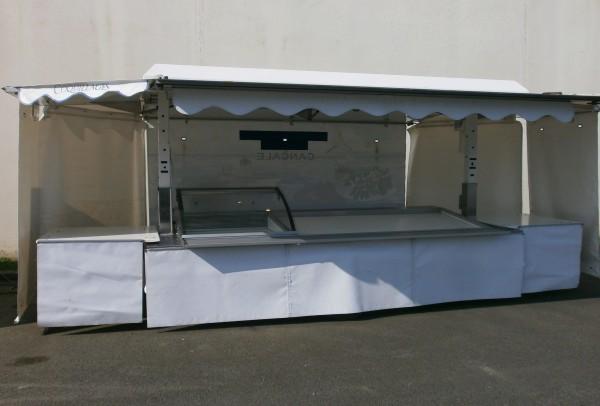 Remorque-magasin ETAL 3M30 REFRIGEREE / SEC